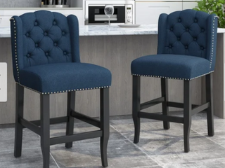 Foxcroft Wingback Chair Set of Two