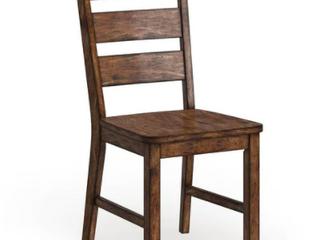 Furniture of America Rustic Walnut Counter Stool