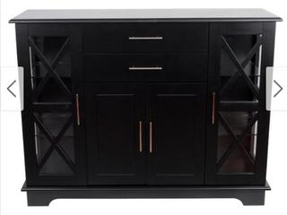 Julianne X Frame Door Console Cabinet  Retail 263 99