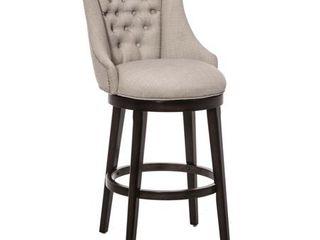 30  Halbrooke Swivel Barstool Smoke Cream Hillsdale Furniture