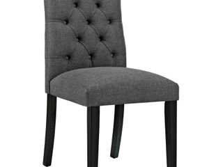Duchess Fabric Dining Chair Gray   Modway