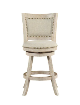 The Gray Barn Parker Swivel 24 inch Counter Stool  Retail 141 99