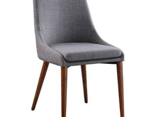 Set of 2 Palmer Chairs Dove   OSP Home Furnishings