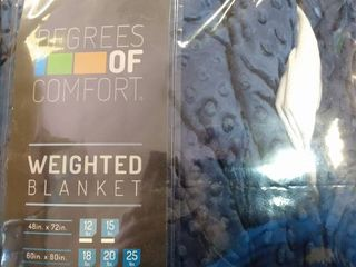 Degrees Of Comfort Weighted Blanket Queen Size For Adults a Even Weight Distribu