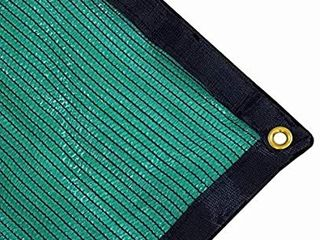 Harvest 70  Green Shade Cloth with Grommets  Premium Heavy Duty Mesh Tarp  20ft X 36ft