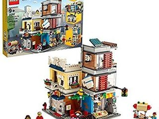 lEGO Creator 3 in 1 Townhouse Pet Shop   CafAc 31097