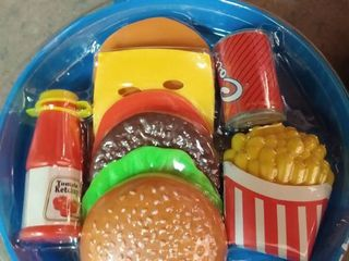 Good Art Cooking Pan with Play Food