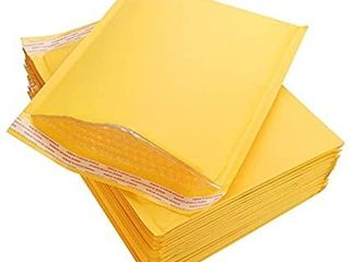 Bubble Mailers 6 5 x 9  Padded Mailing Envelopes 20 Pack  Kraft Bubble Mailers Self Seal Padded Envelopes with Peel N Seali1 4Heavy Duty Tear and lightweight