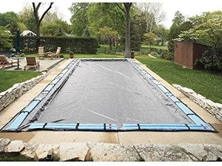 Arctic Armor Mesh Rectangular Safety Cover for 16ft x 32ft In Ground Pools