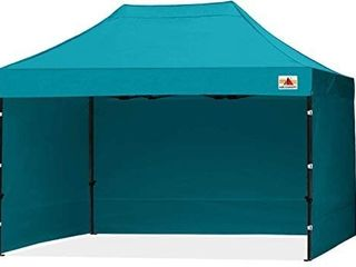 ABCCANOPY Deluxe 10x15 Pop up Canopy Outdoor Party Tent Commercial Gazebo with Enclosure Walls and Wheeled Carry Bag