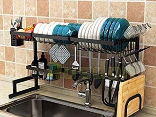 Pudding Over Sink Dish Drying Rack