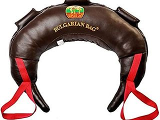 Bulgarian Bag Model Original  Genuine leather  Made by Suples  Including The Instructional Video from The Inventor Coach Ivan Ivanov  Wrestling  Fitness  Crossfit
