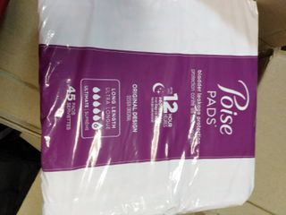 Poise Incontinence Pads For Women  Ultimate Absorbency  long  Original Design