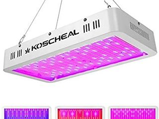 2000W lED Grow light Full Spectrum  Plant Grow light with Veg and Bloom Switch for Hydroponic Indoor Plants KOSCHEAl lED Grow lamp with Daisy Chain