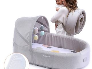 lulyboo Bassinet To Go Bubble Infant Travel Bed   Extra Inserts