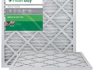 FilterBuy 18x20x1 MERV 8 Pleated AC Furnace Air Filter  Pack of 4 Filters