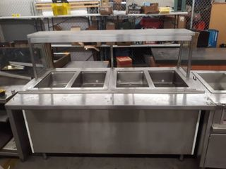 4 Compartment Food Serving Center