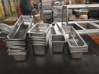 Assorted Stainless steel Insert Pans