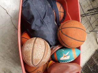 Bucket full of Balls