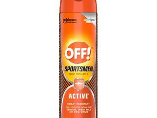 6 New bottles of OFF  Active Insect Repellent I