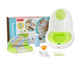 Appears new  Fisher Price 4 in 1 Sling  n Seat Tub