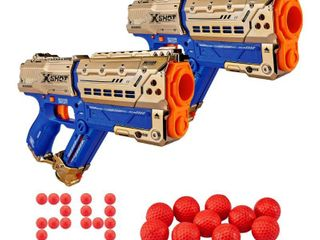 X Shot Chaos Meteor Blaster 2 pack   Royale Edition  missing balls