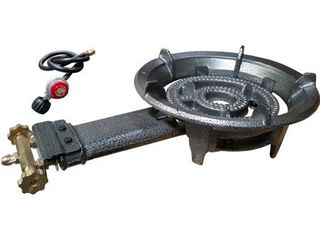 Portable large High Pressure Propane Burner Gas Stove Cooking Camping Outdoor   all there