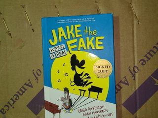 Jake The Fake Keeps It Real Signed Copy