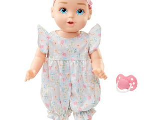 Perfectly Cute Giggle Fun Baby   14  Baby Girl Doll   Blonde Hair