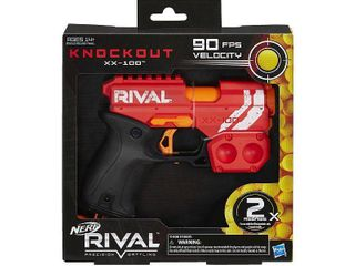 NERF Rival Knockout XX 100   Red   missing balls