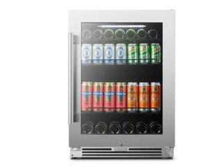 lanbopro 24  Stainless Steel Fridge MSRP  974 00   tested overnight and works prefectly