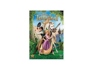 Tangled  DVD   2010    new appears fine