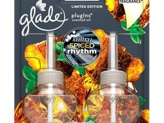 Set of 4   Glade Sultry Spiced Rhythm PlugIns Refill   2ct