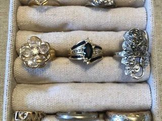 10  14K and 18K Rings  14K Necklaces  36g