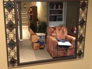 Metal Decorative Mirror and Wall Decor