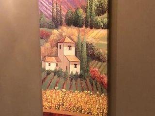 Farm Print on Canvas