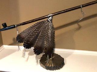 Kary Wingerter Peace Pipe Sculpture