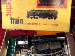 Vintage Allstate Electric Train