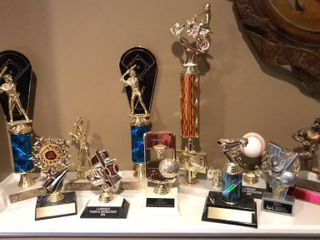 11  Assorted Trophies