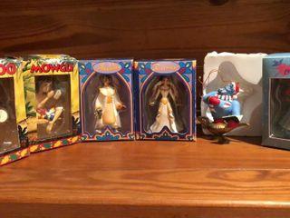 6  Disney Christmas Ornaments