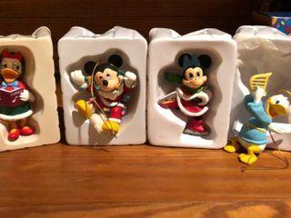4  Disney Figurines   Mickey