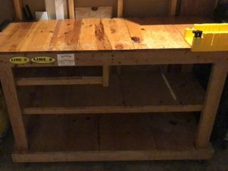Work Bench on Casters