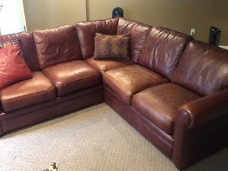 leatherTrend l Shaped Sectional Sofa