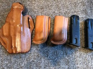 5  Sig Sauer Mags and Holsters