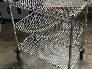 Wire Cart on Casters