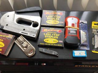 Staple Gun  Staples  Utility Knives