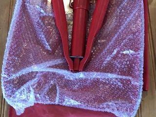 Red Folding Shovel