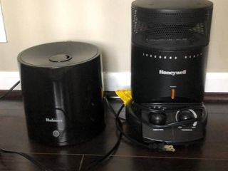 Honeywell Space Heater and Holmes Humidifier