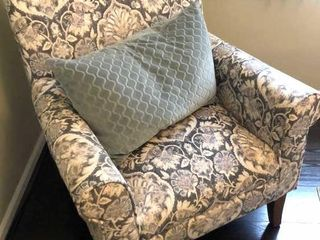 Patterned Accent Arm Chair