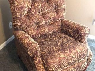 Haining High Point Pattern Recliner